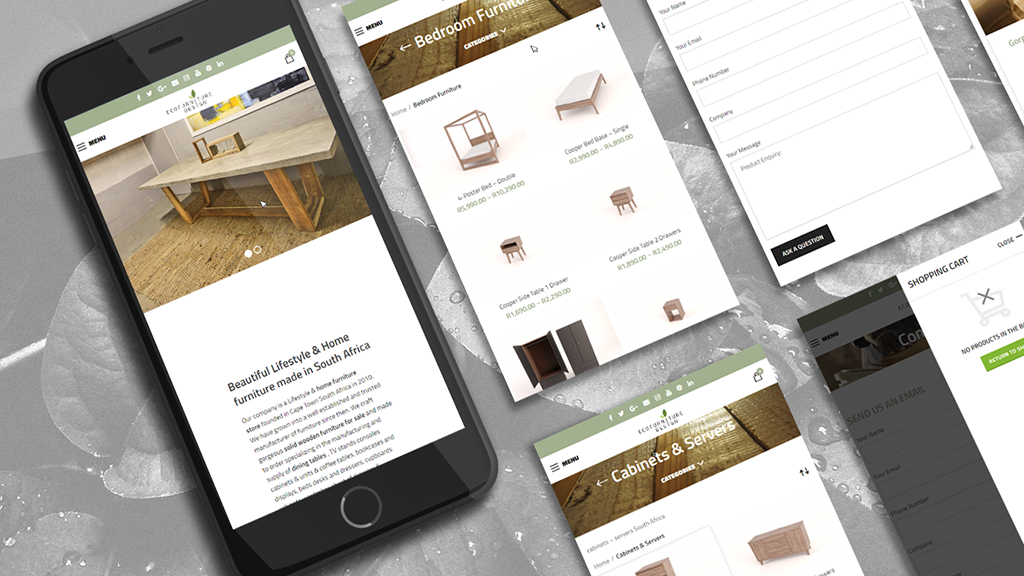 mobile-view-furniture-design-ui